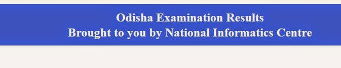 Odisha HSC Result 2014
