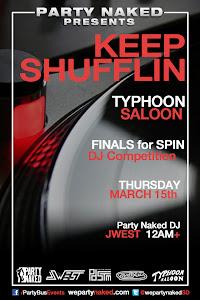 """""""Keep Shufflin"""" at Typhoon Saloon"""
