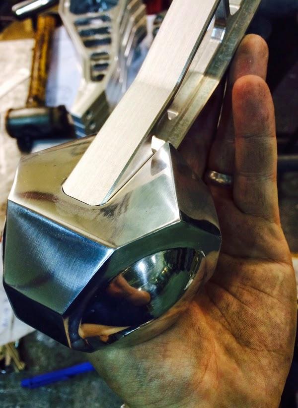 Polished Aluminium Parts