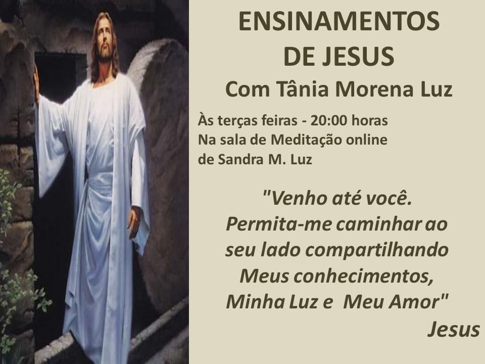 ENSINAMENTOS DE JESUS