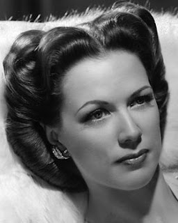 Vintage black and white photo of actress Eleanor Powell.