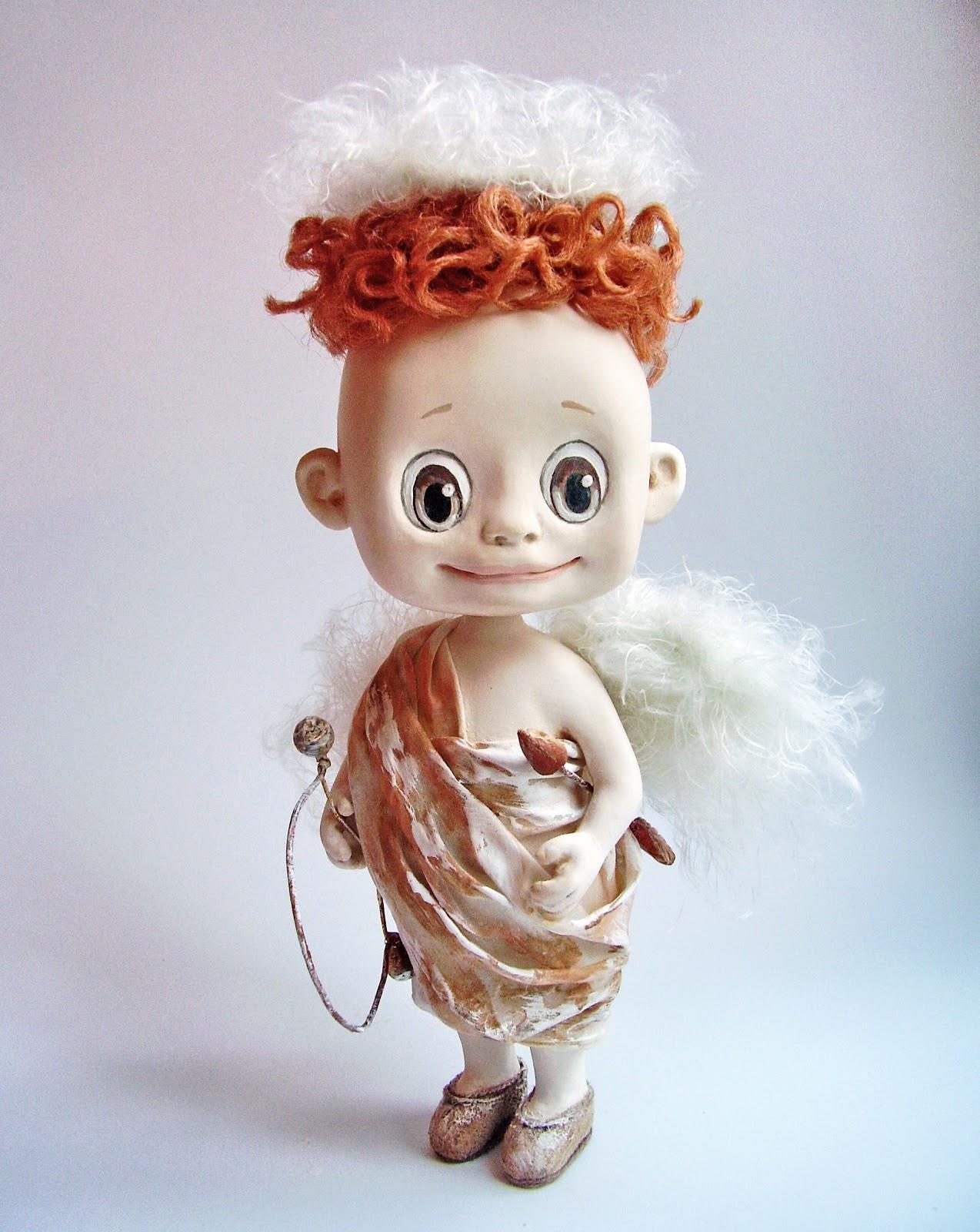 Кукла амур своими руками