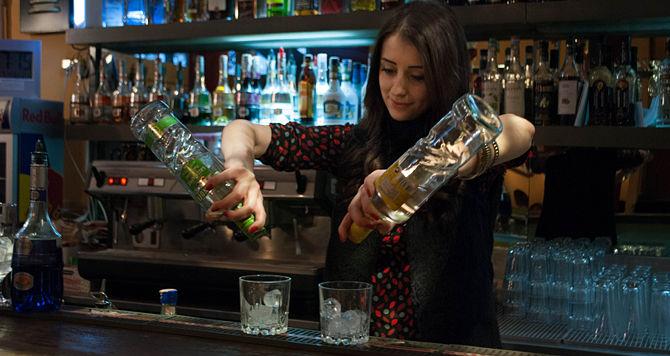 Moroccan Female Bartender