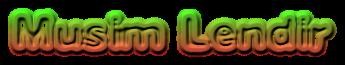 MUSIM LENDIR