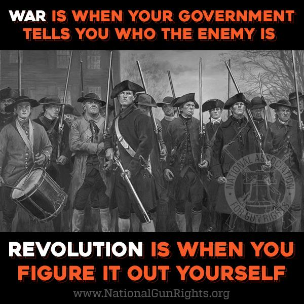 Revolution vs War