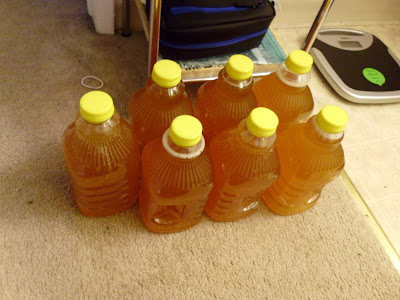 Bottled the cider