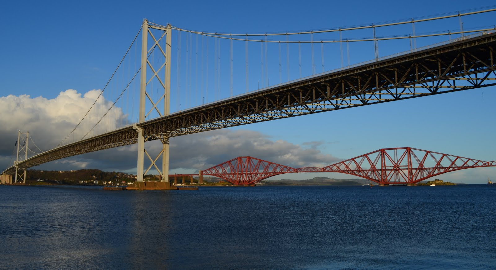Tour scotland photographs video forth bridges firth of forth