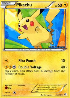 Pikachu Boundaries Crossed Pokemon Card