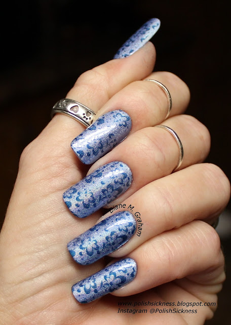 Julep Tali, Darling Diva Queen of the Night, Dana 2 stamping plate
