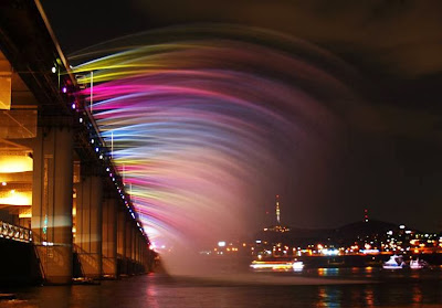 korea, seoul, Seocho, Yungsan, sungai, Jamsu, jembatan, transportasi, Guiness World Record, Moonlight Rainbow Fountain, romantis, korea, wisata indonesia, wisata asia, backpacker, traveling,
