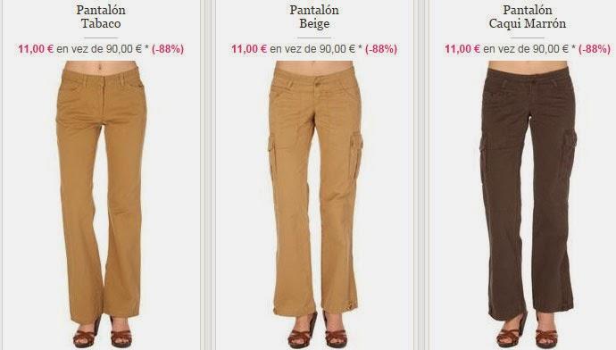Tres ejemplos de pantalones para mujer de Timberland