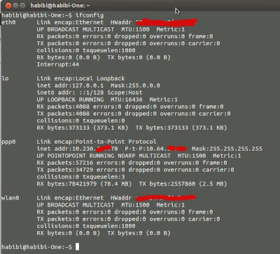 Cek IP Address di Ubuntu