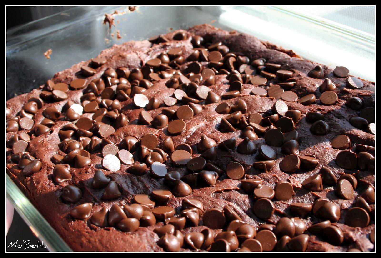 Chocolate Pudding Dump Cake - 4 ingredients! - Makin' it Mo'Betta