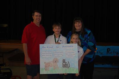 Montgomery Catholic Preparatory School Sixth Grader Wins Humane Society Poster Contest 2
