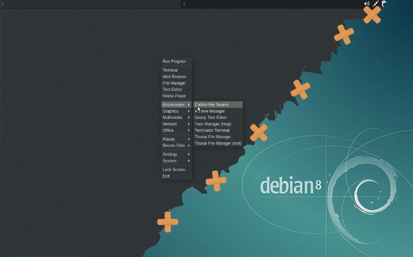 CrunchBang in Debian Jessie