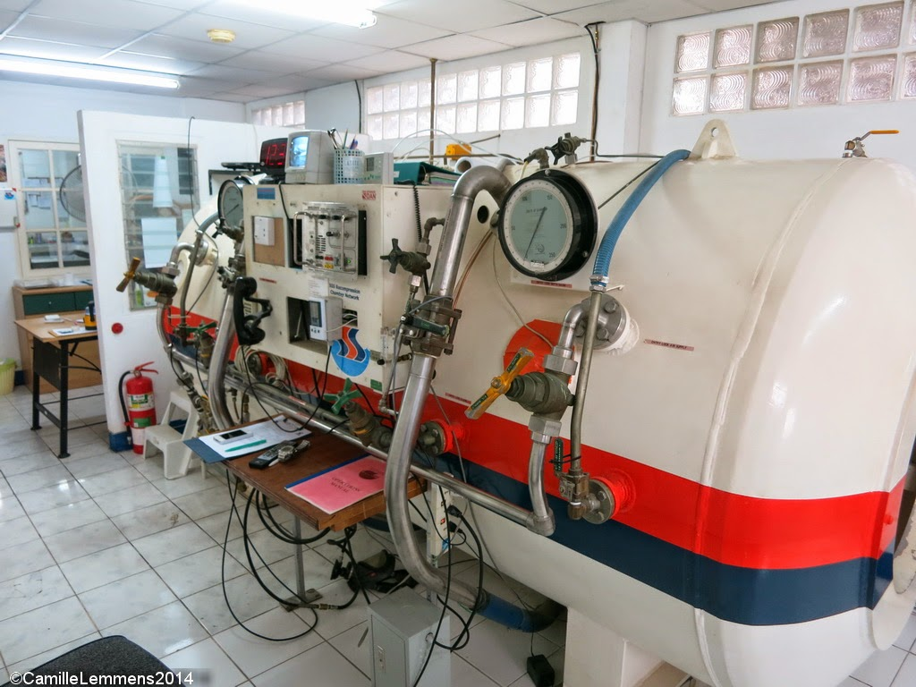 Koh Samui hyperbaric chamber