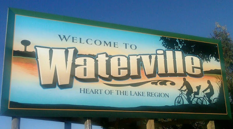 Welcome to Waterville sign