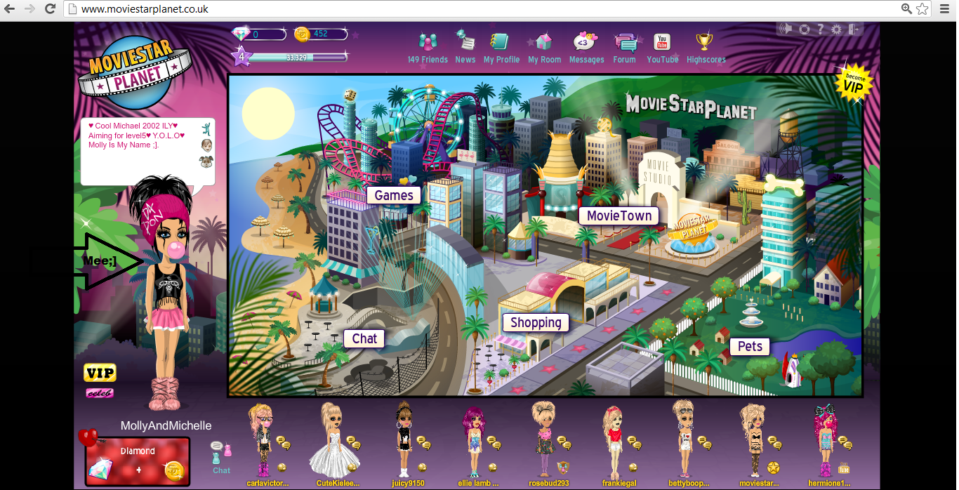MSP Movie Star Planet