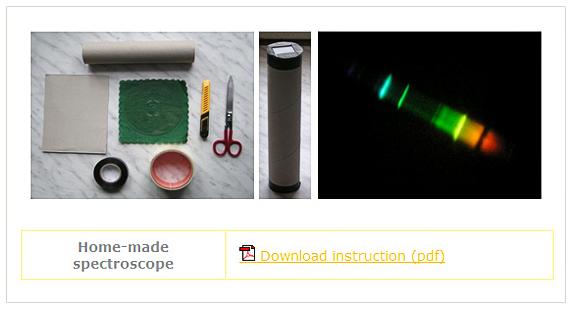 http://galileoteachers.org/home-made-spectroscope/