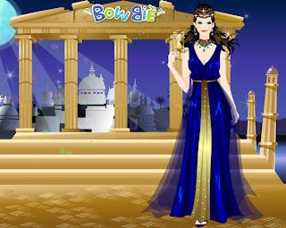juego de vestir a la diosa griega