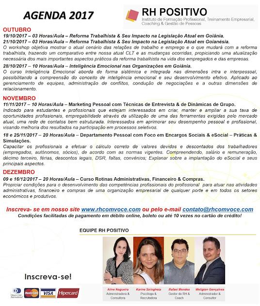 Qualifique-se com a RH POSITIVO e seja o DIFERENCIAL no mercado de trabalho!