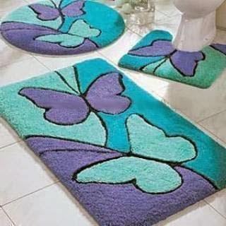 Tapetes personalizados de borboleta