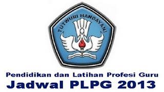 informasi dan jadwal plpg sertifikasi 2013