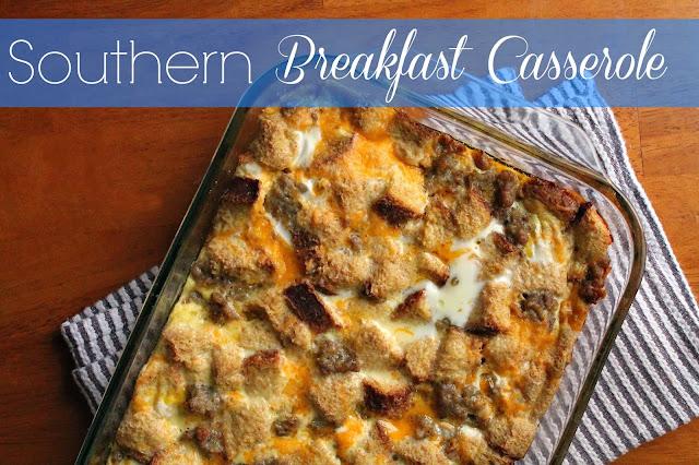 Southern Breakfast Casserole via @labride