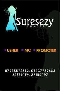 Call For Your Stunning Ushers