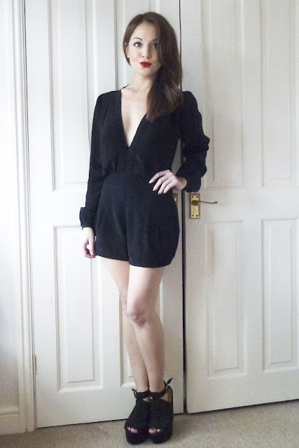 Motel Jet Plunge Playsuit