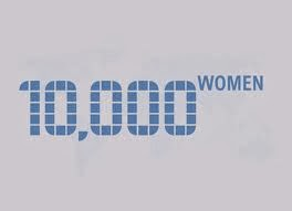 Participante do Program 10,000 Women