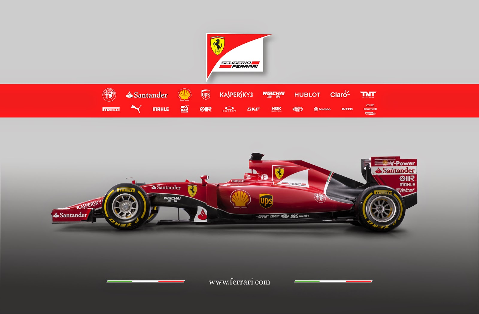 Ferrari SF15 T 2015 F1 Wallpaper KFZoom
