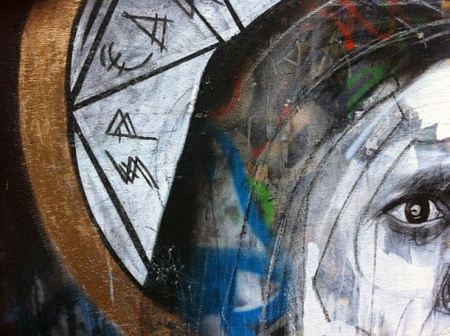 Ben Slow x Jim McElvaney x I-Lib Newest Street Art on the streets of Brighton, UK 3