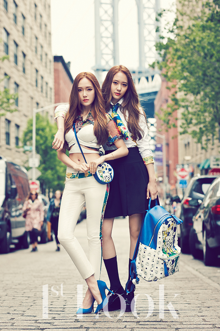 SNSD Jessica and fx Krystal