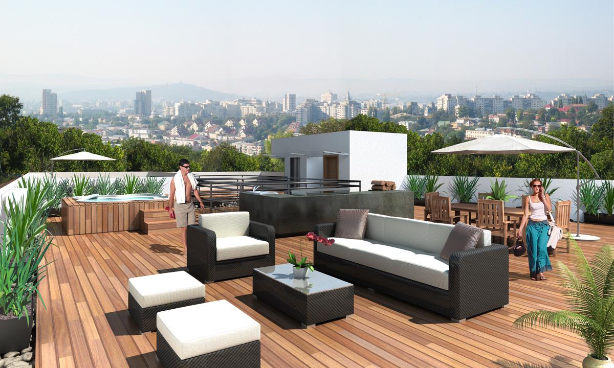10 excelentes renders de arquitectura 3d casa minimalista for Render casa minimalista