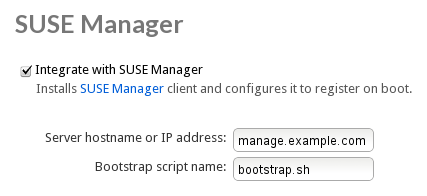 Activating SUSE Manager with one click