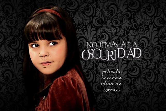 Capturas No Tengas Miedo a la Oscuridad DVDR Menu Latino ISO