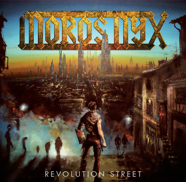 "Detail from Moros Nyx (Chicago Power/Speed Metal Band) New Album ""Revolution Street"", Chicago Power Metal, Revolution Street, Moros Nyx, Moros Nyx Revolution Street"