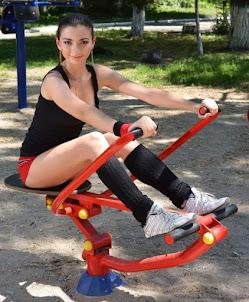 Уличные тренажёры для спортивных площадок купить в Краснодаре