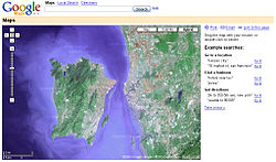 cara pasang map atau google map