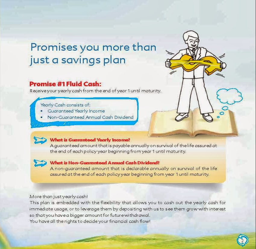HLA Cash Promise is a mid-long term saving plan that helps you to ...