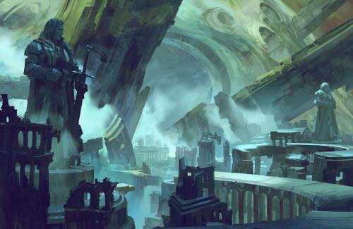 Los mundos de fantasia de Neal Hanson