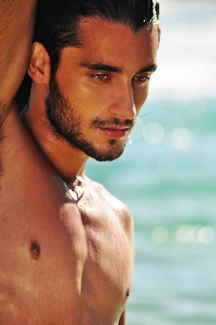 Gabriel Reif atuou como modelo (foto: divulgação)