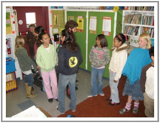 Student achievement best practices and classroom management even extend to lining up at the door.