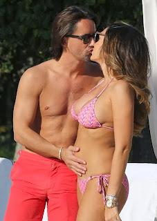 Tamara Ecclestone pink bikini Los Angeles