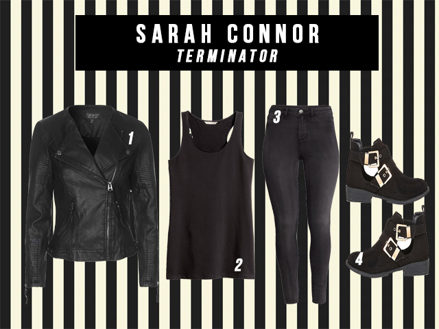 sarah connor style