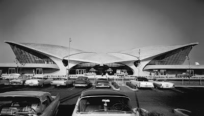 TWA Terminal at Idlewild (now JFK) Airport, Eero Saarinen, New York, 1962