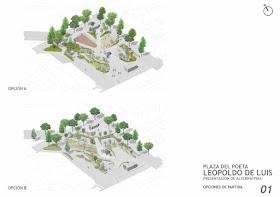 Propuesta vecinal para la Remodelación de la Plaza del Poeta Leopoldo de Luis