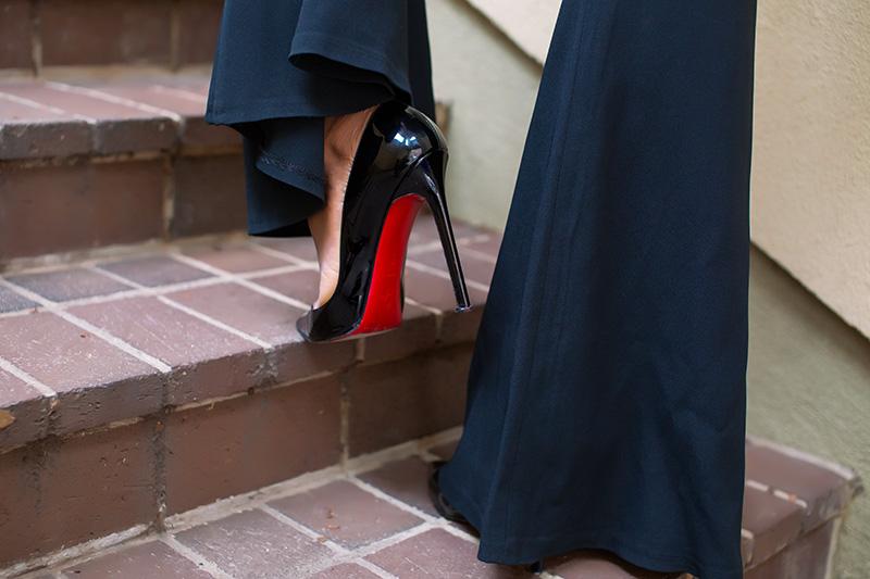 flare pants, christian louboutin, www.jadore-fashion.com