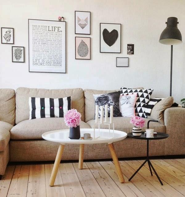 Vintage trendy inspirez vous et cr ez salon style scandinave - Salon style scandinave ...